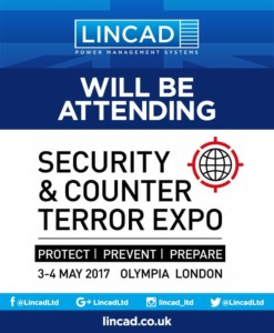 Lincad Will be Attending Security & Counter Terror Expo