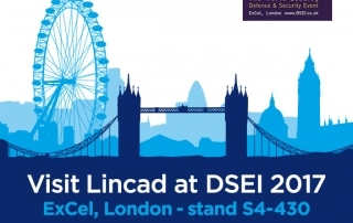 Visit Lincad at DSEI 2017, Sept 12 to 15, stand S4-430