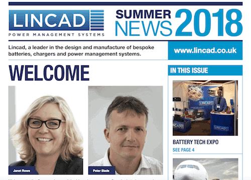 Lincad Newsletter Summer 2018
