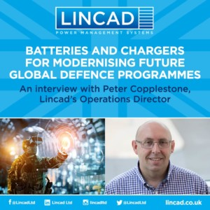 Batteries And Chargers For Modernising Future Global Defence Programmes