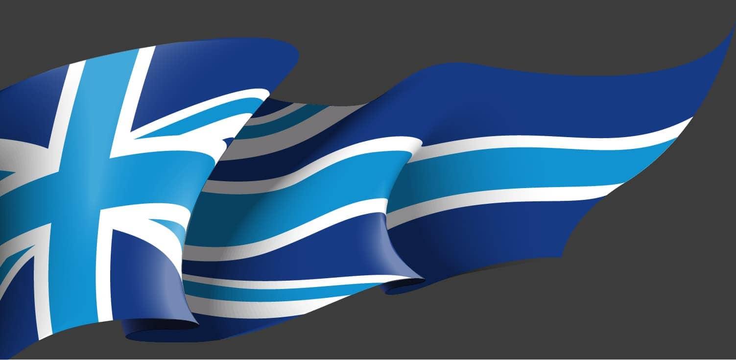 Lincad Flag Bg Ltr