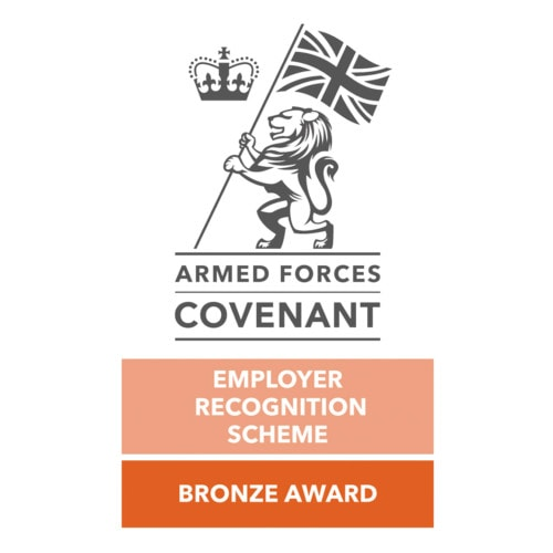 Armed Forces Covenant Bronze Employer Recognition